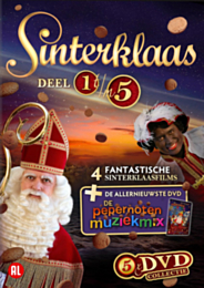 DVD collectie Sinterklaas (5 dvd's)