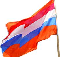 Vlag XL Oranje 200x300cm