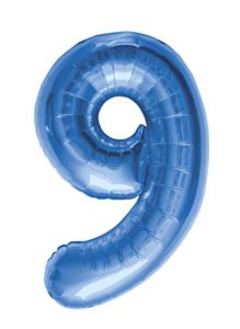 34'' Blue 9