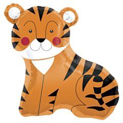 Folieballon Super Shape Tiger