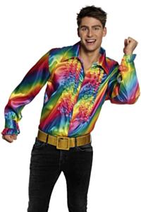 Regenboog blouse
