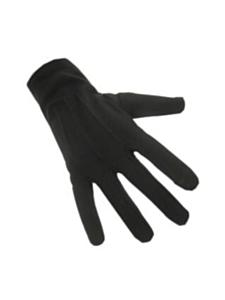 Handschoenen katoen kort zwart (piet)