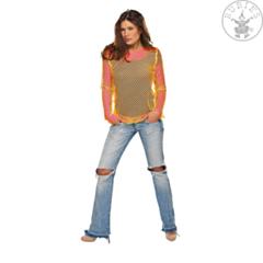 Netshirt neon oranje
