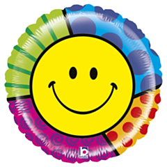 Grote Folieballon Mighty Smiley