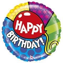 Grote Folieballon Mighty HBday Balloon