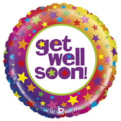 Grote Folieballon Mighty Get well soon