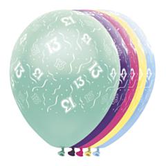 Ballon 13 jaar