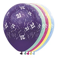 Ballon 21 jaar