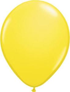 Ballon 13cm Geel
