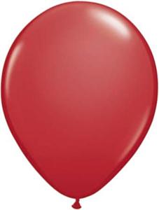 Ballon 13cm Rood