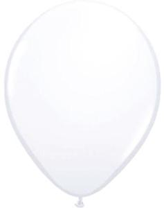 Ballon 13cm Wit
