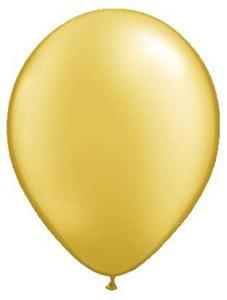 Ballon Metallic Goud