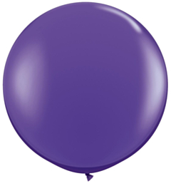 Ballon 90cm Paars