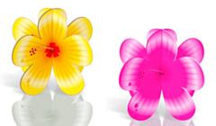 Tafeldecoratie Bloemen 4 stuks