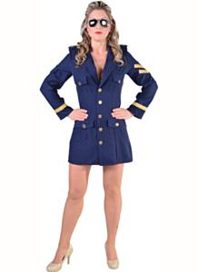 Piloten dame, marine