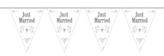 Vlaggenlijn Just Married