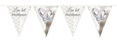 Vlaggenlijn Leve het Bruidspaar 10mtr