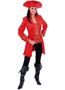 Markiezin Mantel rood