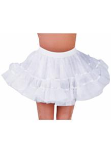 Petticoat kort wit