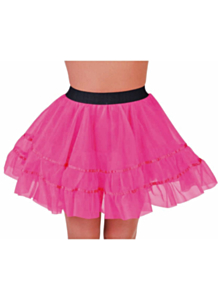 Petticoat kort roze