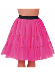 Petticoat knielengte roze
