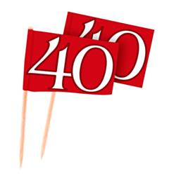 Prikker Vlag: 40 Jubileum