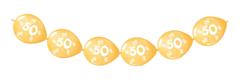 Doorknoopballonnen 50 Jubileum