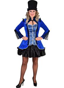 Jasje Nicky Burlesque blauw