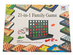 21 in 1 familie spel