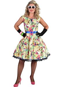 50's bloesem jurk