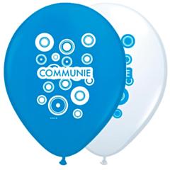 Ballonnen 30cm Communie Jongen