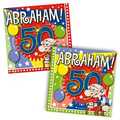 Servet Abraham Explosion 25x25cm