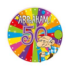 LED Party Badge Abraham