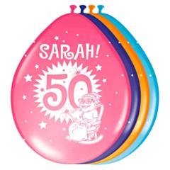 Ballonnen 30cm Sarah Explosion