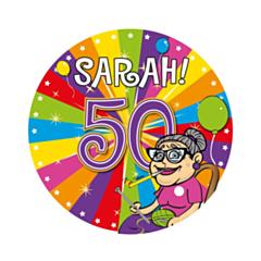 LED Party Badge Sarah