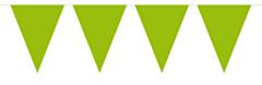 Vlaggenlijn Effen Lime Groen 10mtr