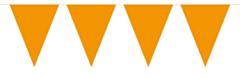 Vlaggenlijn Effen Oranje 10mtr