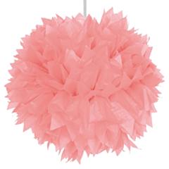 Pompom Roze 30cm