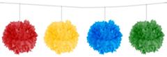 Pompom slinger Ass. kleuren 12cm/3m