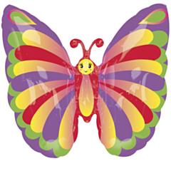 Folieballon Super Shape Beautiful Butterfly