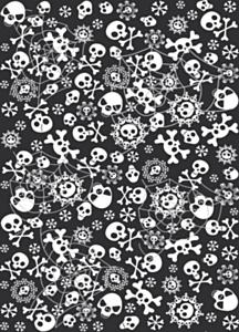 Tafelkleed Horror 130 x180cm