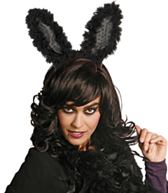 Tiara Bunny Zwart