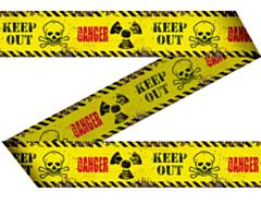 Markeerlint Danger/Keep Out 15Mtr