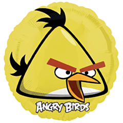 Folieballon Yellow Angry Bird
