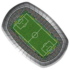 Borden Voetbal Rechthoek 18x27cm