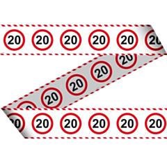 Markeerlint Verkeersbord 20 15mtr