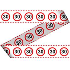 Markeerlint Verkeersbord 30 15mtr