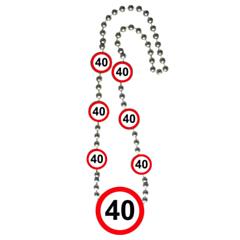 Ketting Verkeersbord 40