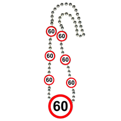 Ketting Verkeersbord 60