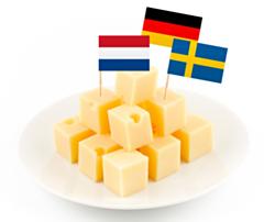 Vlaggenprikkers Europa